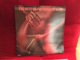 Disco vinilo The fatback band