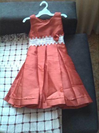 cf45e914a Vestido de fiesta niña de segunda mano en la provincia de Asturias ...
