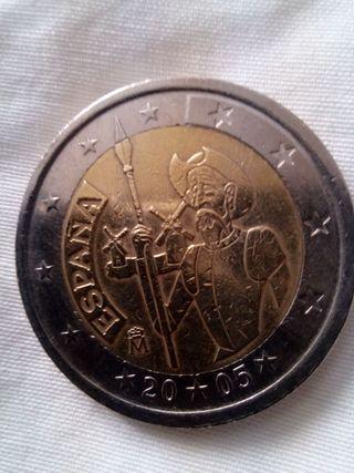 Moneda 2 euros España 2005