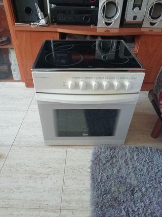 horno con plancha