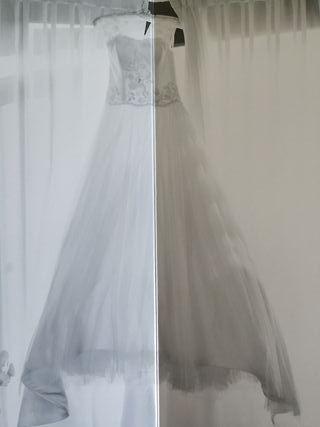 Vestido de novia T.36 Clara novias.