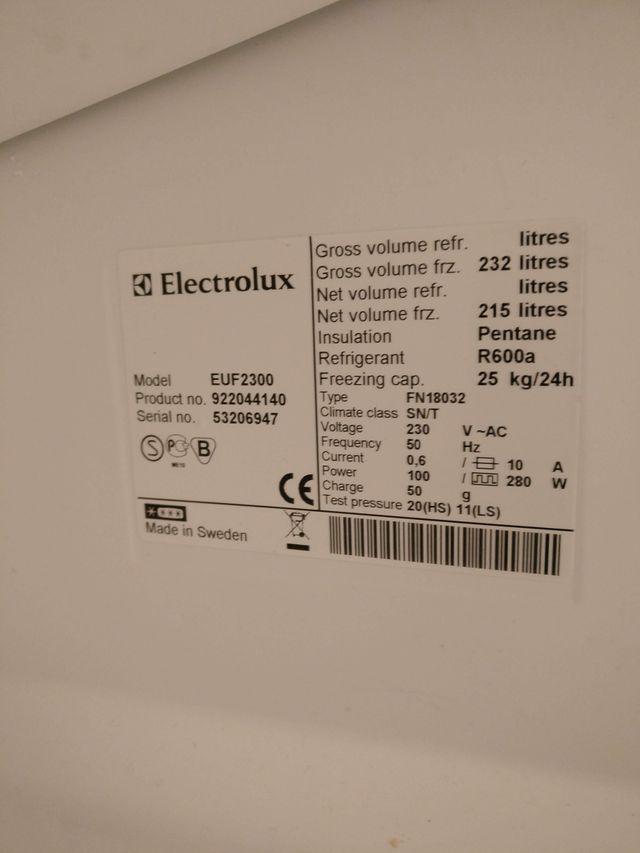 Caixons congelador Electrolux