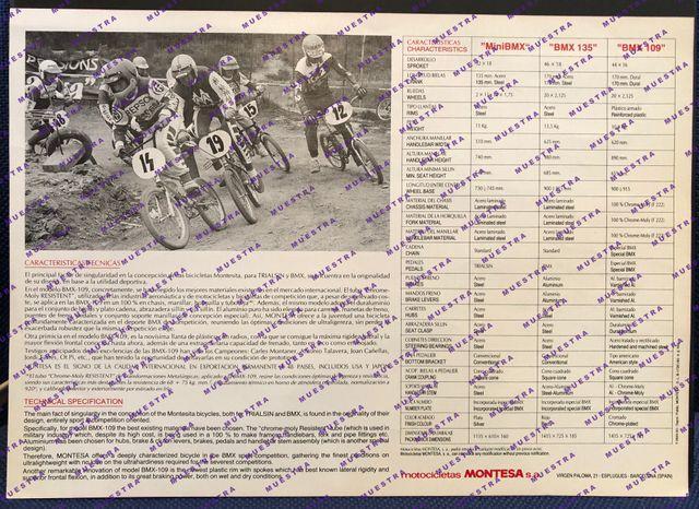 MONTESITA 109 BMX 1983
