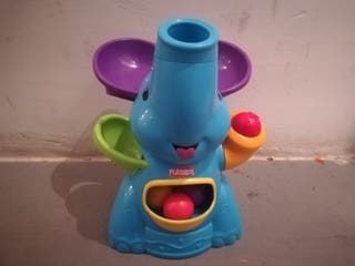 Elefante sopla bolas playskool