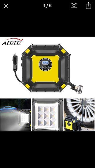 Compresor aire para coche