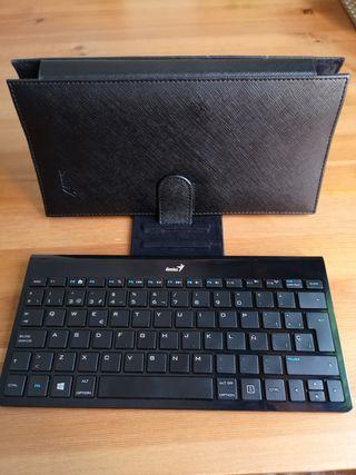 Teclado + funda/soporte tablet
