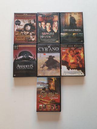 Película en DVD Cine Actual Lote 121