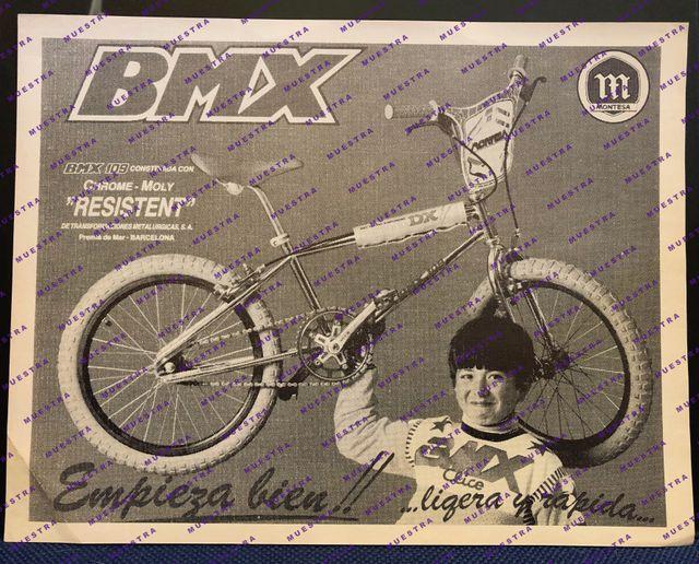 MONTESA 109 BMX versión USA