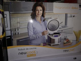 robot de cocina new cook plus nuevo a estrenar