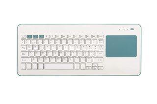 Teclado con touchpad inalámbrico