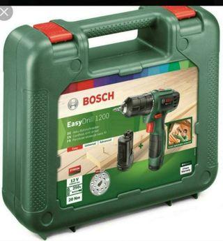 Taladro 2 baterías. Nuevo.Bosch EasyDrill 1200 12v