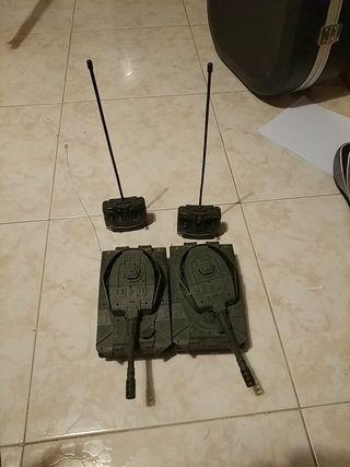 tanques teleridigidos