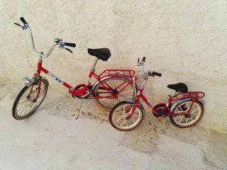 Conjunto bicicletas BH Años 80 vintage