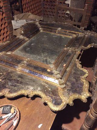 Espejo Veneciano Grande Principios sXIX