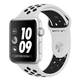 Apple Watch Series 3 Nike Plata - Blanco 42mm