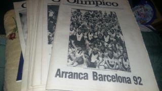 18 periodicos juegos olímpicos Barcelona 92