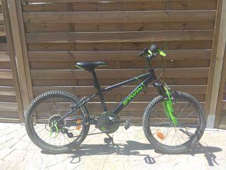 """Bicicleta de aluminio de 20"""" Decathlon"""