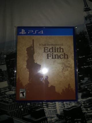 juego ps4 what remains of edith finch