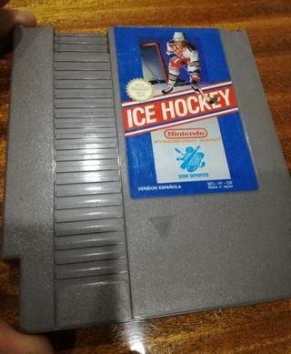 ice hockey nes