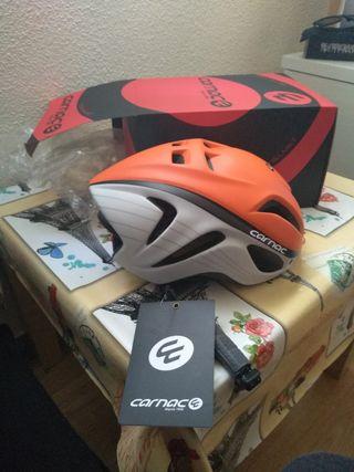 casco bici nuevo
