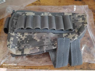 cantonera rifle airsoft tactico caza