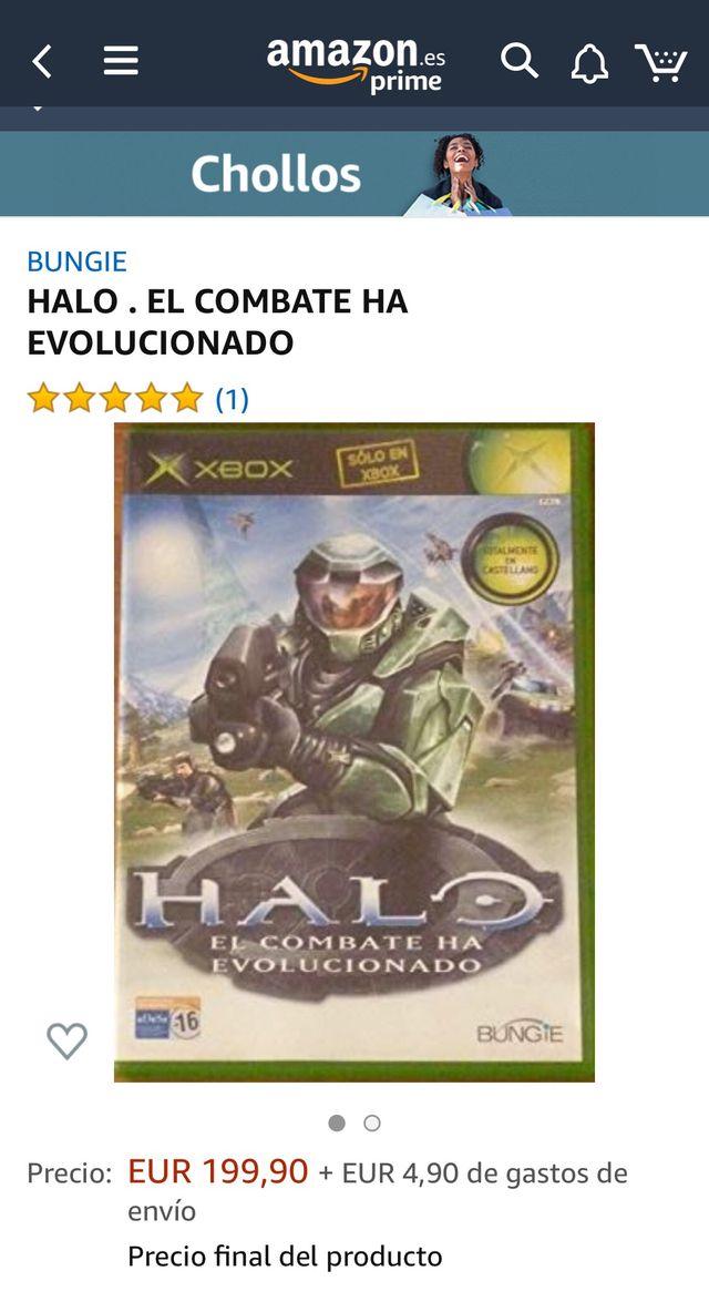 Halo El combate ha evolucionado XBOX