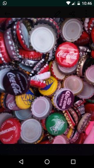 Chapas de botellas