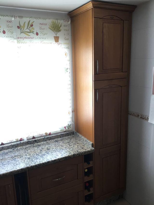 Muebles De Cocina Puerta Madera Roble Urge Vender De Segunda Mano