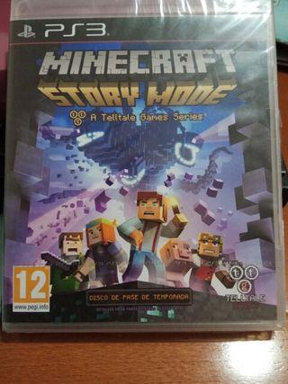 Minecraft: Story Mode PS3 NUEVO PRECINTADO