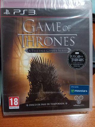 GAME OF THRONES PS3 NUEVO PRECINTADO