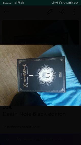 Manga Death Note Vol. 1 Edición Negra