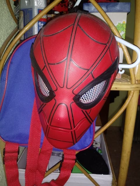 mascara de spiderman