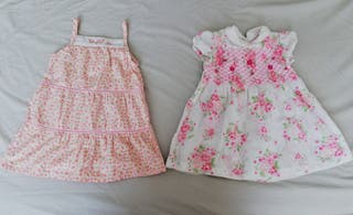 PPACK vestidos 12 meses