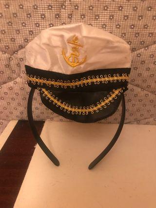Adorno disfraz marinero