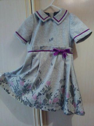 vestido de paño de invierno