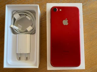 iPhone 7 rojo 128 GB