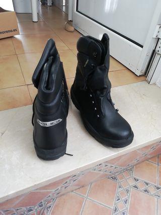 botas de policía las auténticas