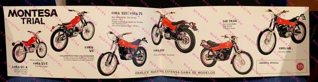MONTESA GAMA TRIAL 1979