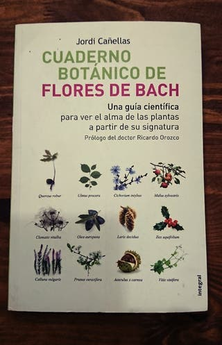 Cuaderno Botánico de Flores de Bach.