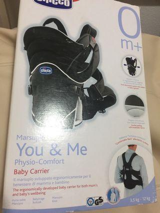 Mochila porta bebé. Nueva