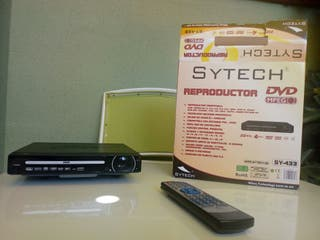 REPRODUCTOR DVD MPEG4 SYTECH