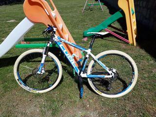 bicicleta de montaña cube pro. cambio 125
