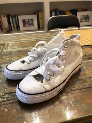 Zapatillas cuña interior