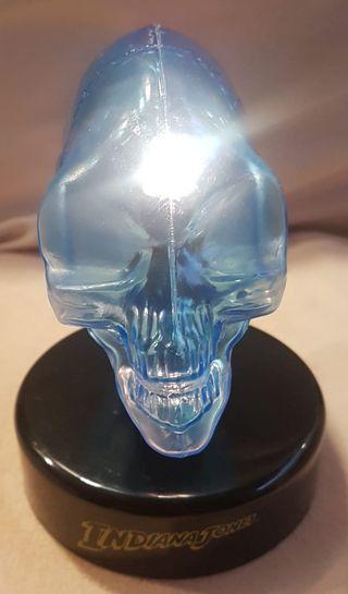 "Lámpara ""Calavera de cristal"" de Indiana Jones"
