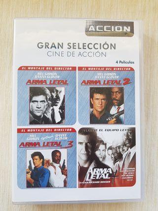 Saga Arma Letal DVD