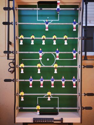 Futbolin plegable