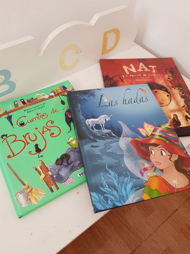 Lote 3 libros infantiles