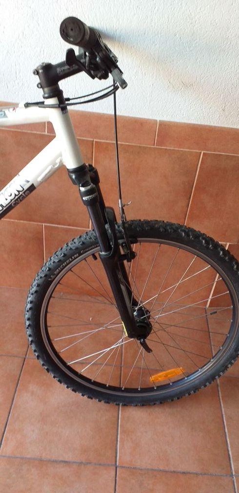 bicicleta de aluminio