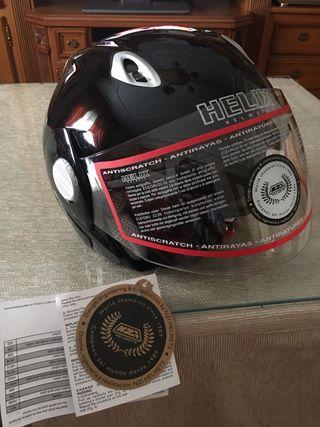 Casco Helix Two visors
