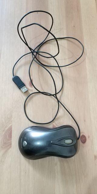 Ratón láser USB